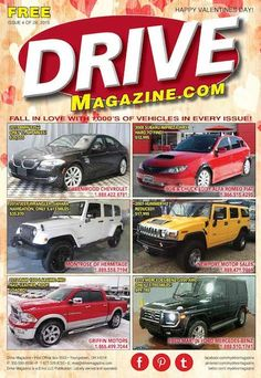 Drive Magazine Front Cover - Issue 4 of 2015