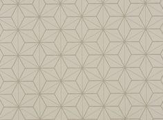 Tatami Wallpaper Chalk - Chervil Wallcoverings : Upholstery Fabrics, Prints, Drapes & Wallcoverings