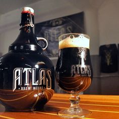 Atlas Brew Works by Bates Creative