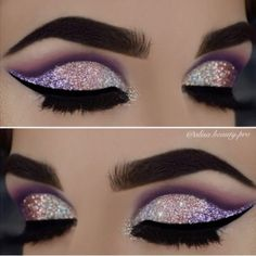 Start each day with glitter  @alisa.beauty.pro  #glitter #eyes #alisabeautypro #brian_champagne