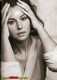 Monica Bellucci without makeup  http://www.stars-without-makeup.com/-/pics/monica-bellucci/24903-monica-bellucci-without-makeup.jpg