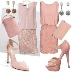 Nude Glam  #fashion #mode #kleider #look #outfit #style #stylaholic #sexy #dress