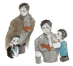 Jason Todd w/ Little Bruce