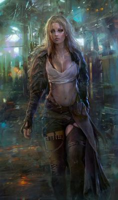 Bionic parts Inspired t Cyberpunk Fantasy art and Sci fi 3d Fantasy, Fantasy Women, Fantasy Girl, Fantasy Artwork, Female Character Design, Character Art, Dungeons And Dragons, Dark Siders, Science Fiction