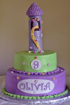 tangled cake ideas | Cakerbelle Does Cakes, Cupcakes, and More!!!: Tangled Inspired Cake