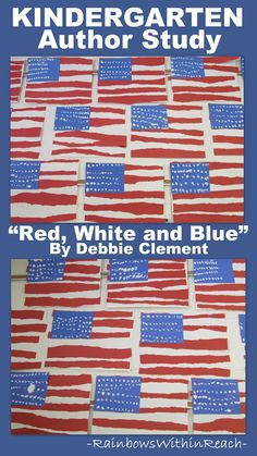 """Presidents Day + Patriotism = """"Red, White and Blue"""" Sing a Picture Book with author and song writer Debbie Clement"""