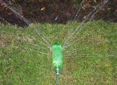 Irrigação com garrafa PET