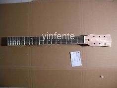 New High Quality Unfinished electric guitar neck Solid wood Body &  fingerboard new model 1pcs #2