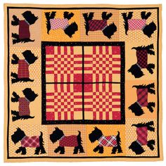 """Puppy Parade"" pattern from American Jane's Quilts for All Seasons"