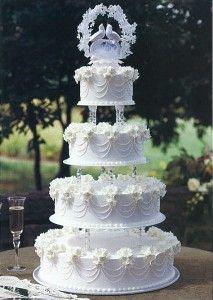 Image result for vintage wilton wedding cakes