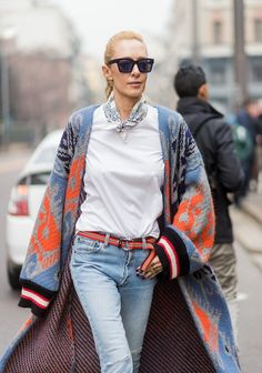 Our Favorite Street Style Shots From Milan Fashion Week via @WhoWhatWear