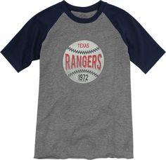 Texas Rangers Youth Navy Baseball T-Shirt