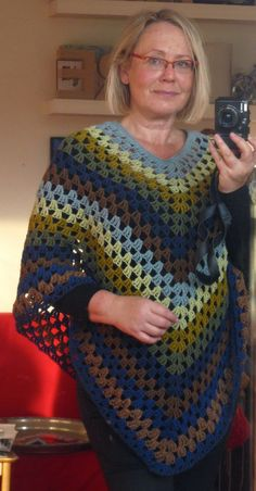 Crochet Poncho...my grandmother made these...