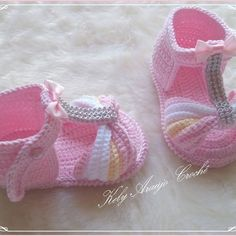 Baby Shoes, Slippers, Crochet, Fashion, Crochet Slippers, Crochet Baby Clothes, Baby Coming Home Outfit, Crochet Baby Sandals, Baby Sandals