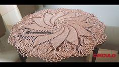 Centro de mesa em crochê - Parte 1 Mandala Au Crochet, Crochet Doily Patterns, Filet Crochet, Crochet Shawl, Crochet Doilies, Knit Crochet, Crochet With Cotton Yarn, Thread Crochet, Crochet Baby