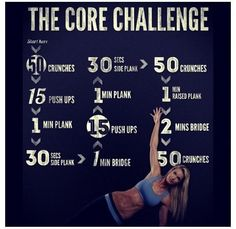 The Core Challenge // Definitely gonna have to slowly work my way up to this, but that's why it's called a challenge