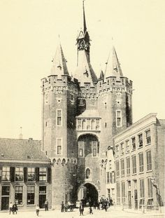Sassenpoort, Zwolle, netherlands about 1900