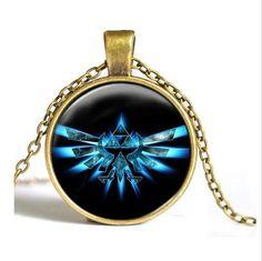 Necklaces - Zelda Triforce Pendant Necklace