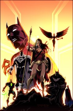 Justice League Beyond by Khary Randolph & Emilio Lopez