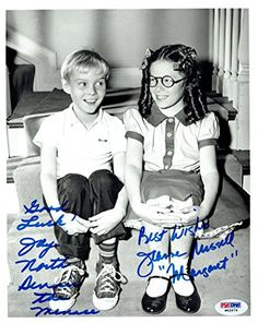 d4a6f0023 Jay North   Jeannie Russell Signed Denice the Menace Authentic 8x10 Photo  PSA DNA  W62679 at Amazon s Entertainment Collectibles Store