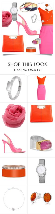 """""""Bright and Light"""" by angy-beurskens ❤ liked on Polyvore featuring Edge Only, Emilio De La Morena, Zonda Nellis, Christian Louboutin, Sophia Webster, Katerina Makriyianni, Mondaine, Astley Clarke, Bling Jewelry and Tommy Hilfiger"""