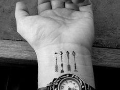 10 tatouages flèches miniatures temporaires / par ElyZeSHOP sur Etsy