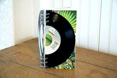 45 Vinyl Record Journal Notebook Notebook Sale, Journal Notebook, Music Journal, Notebooks For Sale, Interesting Stuff, Coupon Codes, Vinyl Records, Album Covers, The Book