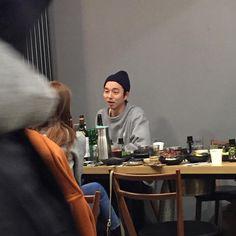 goodbye party for Goblin drama Lee Dong Wook Goblin, Goong Yoo, Ji Eun Tak, Kwon Hyuk, South Korea Seoul, Kim Go Eun, Yook Sungjae, Love Me Forever, Lee Min Ho