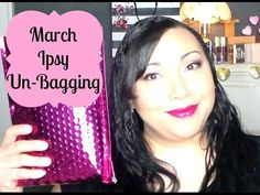 New video! Un-baging the March Ipsy Glam Bag! #itsleylaboo #ipsy #marchglambag