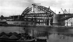 Waalbrug, Nijmegen the Netherlands. Old City, Sydney Harbour Bridge, Pond, Fields, Amsterdam, Around The Worlds, River, History, Places