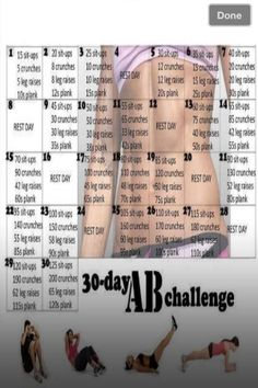 30 day Ab challenge by mgb2013