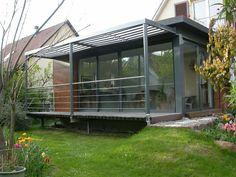 extension sur jardin : Architecte Christophe Tournadre