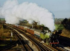 Flying Scotsman Train | Found on steamtraingalleries.co.uk