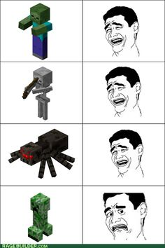 Oh man, so true! I think it's because Creepers can destroy not only your character, but also all your hard work!