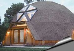 Billedresultat for domo Casa Octagonal, Geodesic Dome Homes, Home Structure, Dome House, Design Case, Ecology, Glamping, Outdoor Gear, Architecture Design