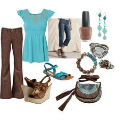 Aquamarine, created by slmon on Polyvore