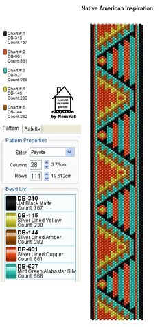 Loom Bead Pattern