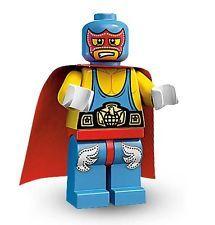 Lego 8683 Super Wrestler Minifigures Serie 1 Nr 10 Figur + BPZ Catcher Ringer