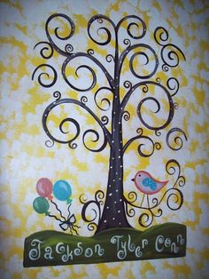 Cute idea for baby shower or birthdays