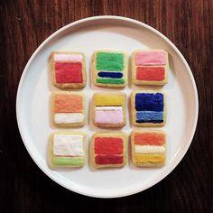 nevver:    Mark Rothko Cookies