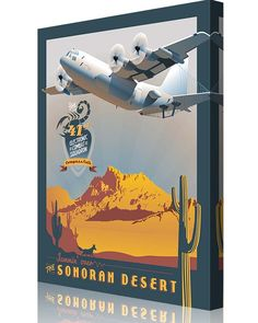 Share Squadron Posters for a 10% off coupon! Davis-Monthan AFB, 41st ECS EC-130H Compass Call #http://www.pinterest.com/squadronposters/