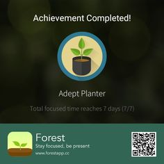 Forest App, Backyard Retreat, Giving Back, Stay Focused, Focus On Yourself, Photo Manipulation, Garden Inspiration, Self Help, Presents
