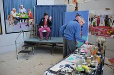 David Hockney RA An introduction to David Hockney RA In just over two weeks,David Hockney