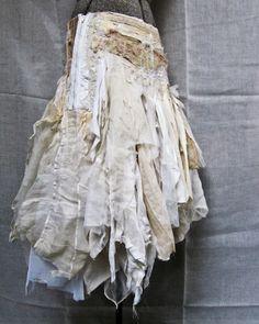 Gypsy tattered skirt                                                       …