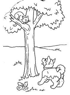 puppies and kitties coloring pages | 45 besten Tiere Bilder auf Pinterest | Malvorlagen ...