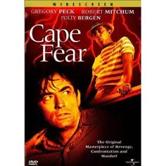 """""""Cape Fear"""" starring Gregory Peck and Robert Mitchum (1961)"""