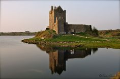 Dunguaire Castle, a restored  16th Century tower house is on the shores of Galway Bay in Galway county.