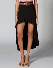FULL TILT Exaggerated Hi-Lo Skirt-$22.99