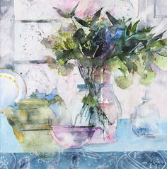 Shirley Trevena #watercolor jd