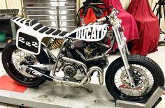 Ducati 900ss Flat Tracker - Jesse Spade #motorcycles #flattracker #motos | caferacerpasion.com